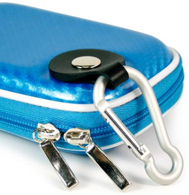 Skin Olympus Silicon (- Blue Quality Mini Hard-Shell EVA - Ethylene Vinyl Acetate - Carrying Case (CANDY New Carbon Fiber Look) for Olympus Stylus Tough-8010 Digital Camera (+ 1pc Lost-n-Found ID Tag) ….. Best Seller on Amazon!)