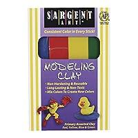 Sargent Art 22-4400 Arcilla de color surtido primario de 1 libra