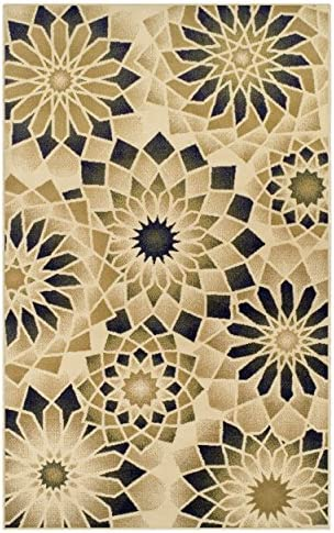Superior Designer 5' x 8' Posy Collection Area Rug