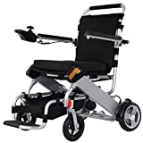 BEIZ Folding Power Wheelchair With Battery-XFG-201 Lightweight Mobility Electric Wheelchair-Best Easy Carry Mobility Scooter