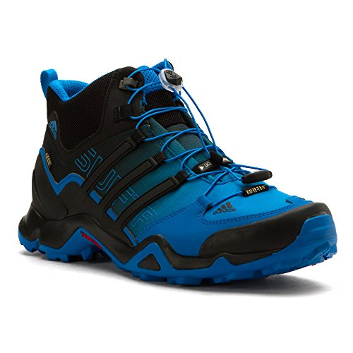 adidas outdoor Mens Terrex Swift R Mid Shoe Shock Blue/Black/Chalk White HkqPnHckp0