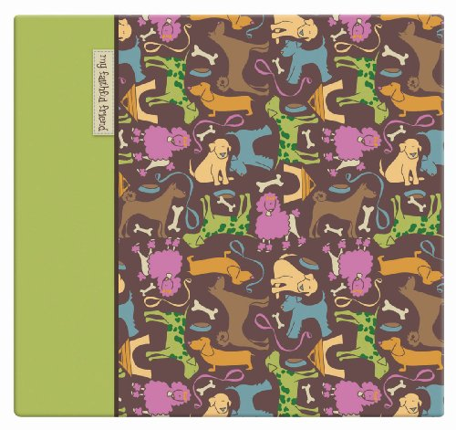 MCS MBI 13.5x12.5 Inch Cute Doggies Scrapbook Album with 12x12 Inch Pages (850031)