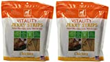 Vitality Chicken Jerky Strip Dogswell Dog Treat, 12-Ounce by Vitality (pack of 2)