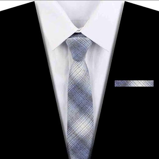 Hjyi Corbata a Rayas de Vestir para Hombres, Corbata Impresa ...