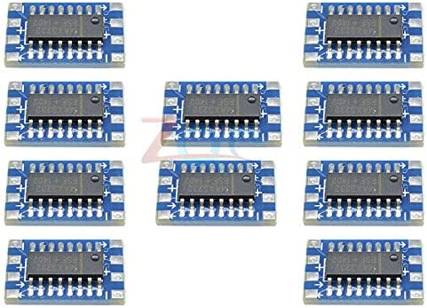 10PCS Serial Port Mini RS232 to TTL Converter Adaptor Module Board MAX3232