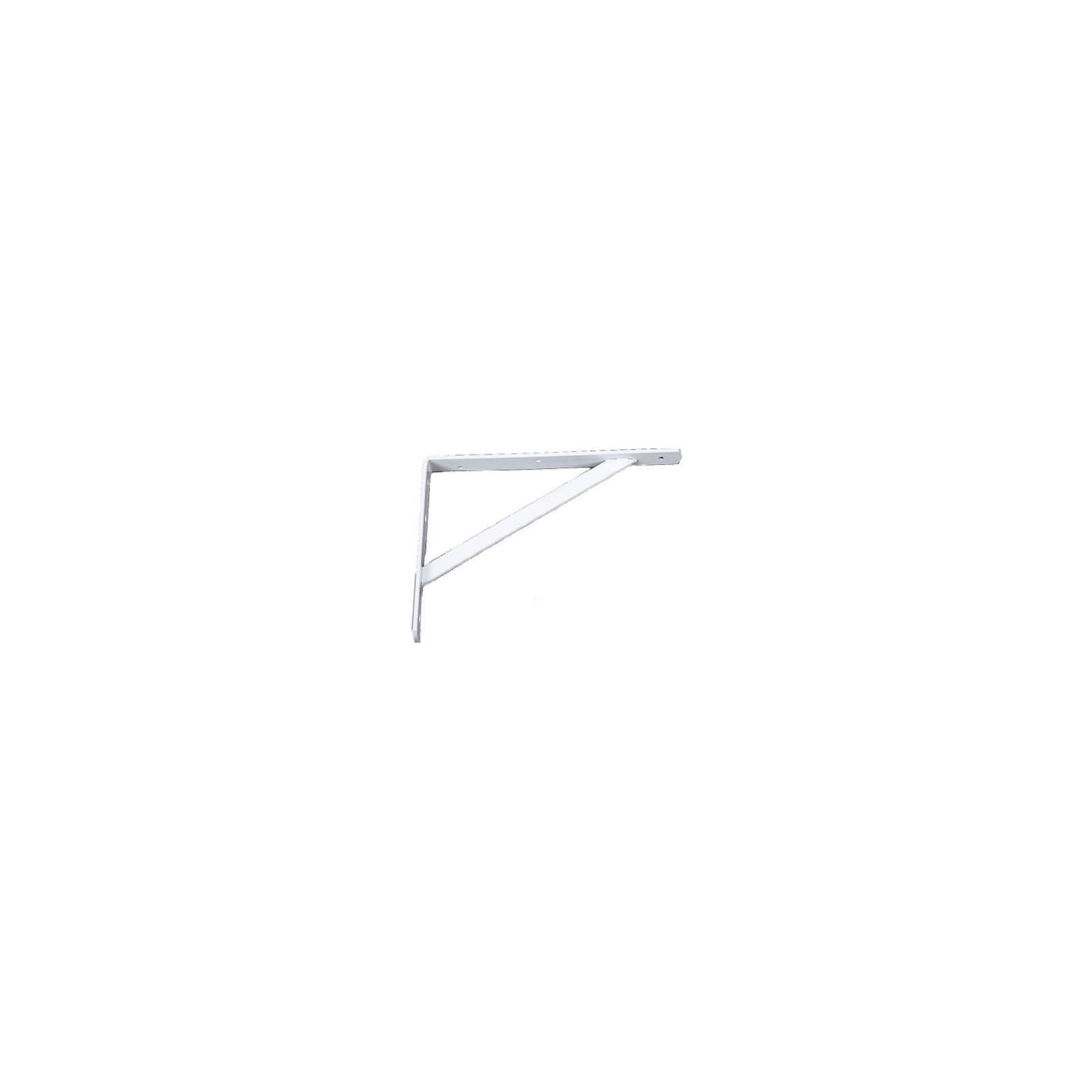 Knape & Vogt 208WH500 20'' White Heavy Duty Shelf Brackets