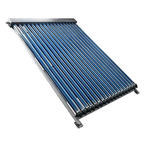 Rp Colector de tubos de vacío de agua caliente Solar. Único, 3. 18 m², srk20 tubos: Amazon.es: Bricolaje y herramientas