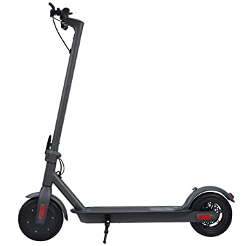 DEUGEE Patinete Eléctrico Adulto,250W Velocidad MáX 25 Km/H Larga Distancia 20 Km E Scooter Carga 125kg Scooter EléCtrico Plegable con LCD