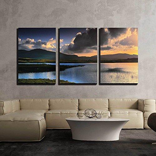 the Isle of Skye in Scotland Great Britain Uk x3 Panels