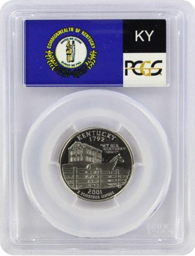 2001 Kentucky State S Clad Proof State Quarter PR-69 PCGS