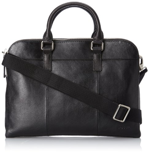Price comparison product image Fossil Mercer Top Zip Workbag, Black, One Size