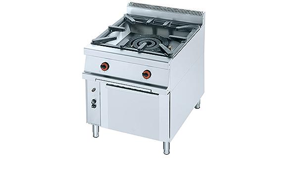 Macfrin 5051 Cocina para Ollas y Paellas Con 1 Quemador y ...
