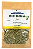 Zane Hellas Organic Culinary Greek Wild Dried Oregano Herb Leaves 1.40 oz. - 40 gr.