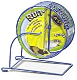 Kaytee-Run-Around-Mini-Exercise-Wheel-45-Inch-Colors-Vary