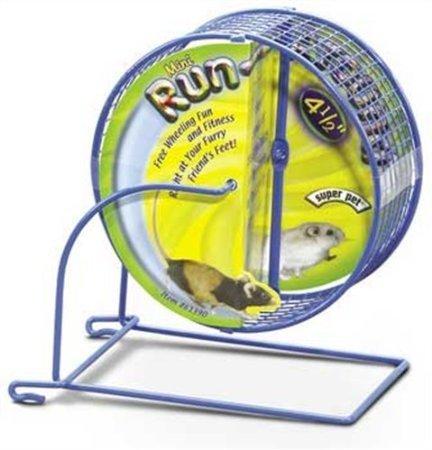 Kaytee-Run-Around-Mini-Exercise-Wheel-45-Inch-Colors-Vary