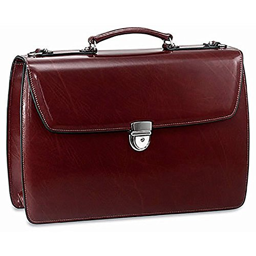 Jack Georges Mens [Personalized Initials Embossing] Elements Briefcase in - Case Georges Jack Business