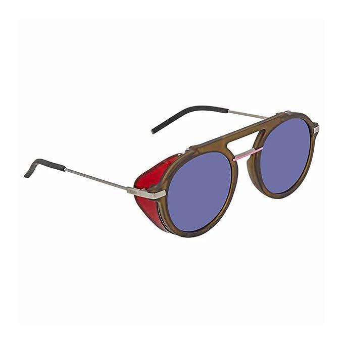 Fendi FF M0012/S KU 1ED 52, Gafas de Sol para Hombre, Verde ...
