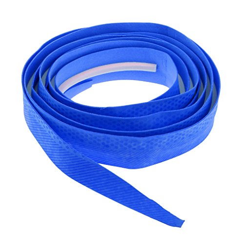 Rod Handle Wrap - Baoblaze Durable, Fishing Rod Handle Wrap Grip Tape, Band PU, Anti-Slip Belt, Repair Kit - Blue