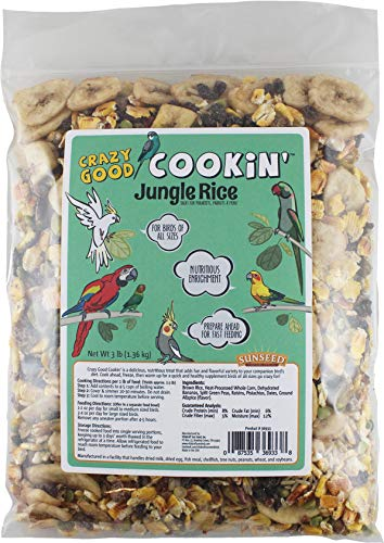 (Sunseed Crazy Good Cookin' Jungle Rice - 16 Ounce)