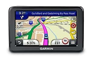 """Garmin Nuvi 2415LT - GPS de 4,3"""" (con Bluetooth, información de tráfico en tiempo real y mapas de Reino Unido e Irlanda) [Importado de Reino Unido]"""
