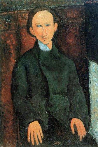 Amedeo Modigliani Portrait of Pinchus Kremenge - 18.05