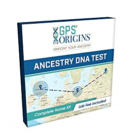 GPS Origins Complete DNA Ancestry Test - Pinpoint More Precisely Where Your DNA Began for Your Maternal & Paternal Lineage & Get DNA Migration Routes + A Vibrant Picture of Your Ancestors