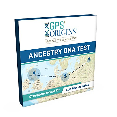 GPS Origins Complete DNA Ancestry Test – Pinpoint More Pre