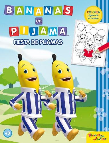 Bananas en pijama. Fiesta de pijamas: Colorea siguiendo el ...