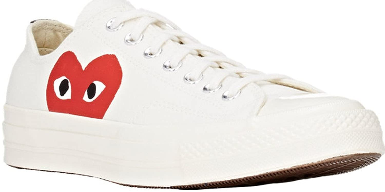 Comme Des Garã§ons Play Comme Des Garcons Play X Converse Chuck Taylor Sneakers - White R7EBKOB