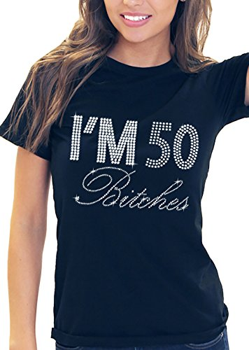 Womens 50th Birthday Shirt Ladies