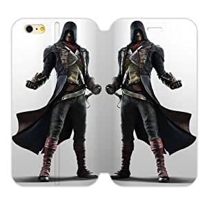 Mysterious Handsome Man Assassins Creed Iphone 6 4.7 Case Shell Cover (Laser Technology) by supermalls