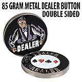 85g Metal 2.25 inch Dealer Button