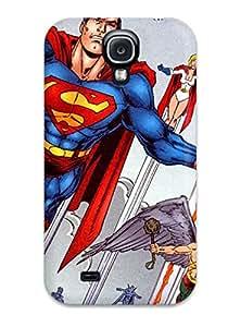 New Premium Flip Case Cover Justice League Skin Case For Galaxy S4