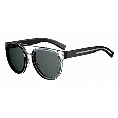 90c8fe5975 New Christian Dior BLACK TIE 143S SAI IR crystal black dark grey  Sunglasses  Amazon.co.uk  Clothing