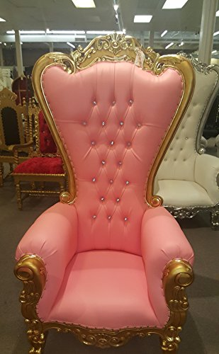 French Baroque Throne High Back Chair