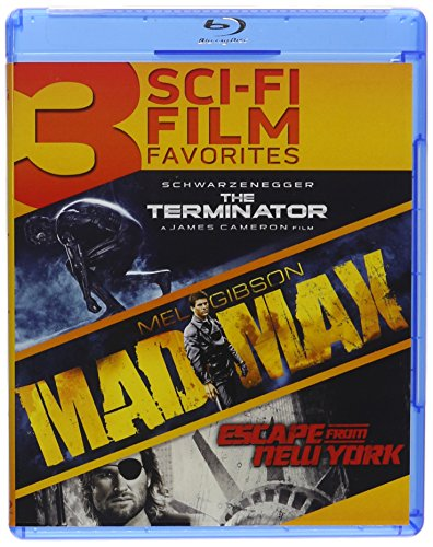 Terminator, The / Mad Max / Escape from New York Triple Feature Blu-ray