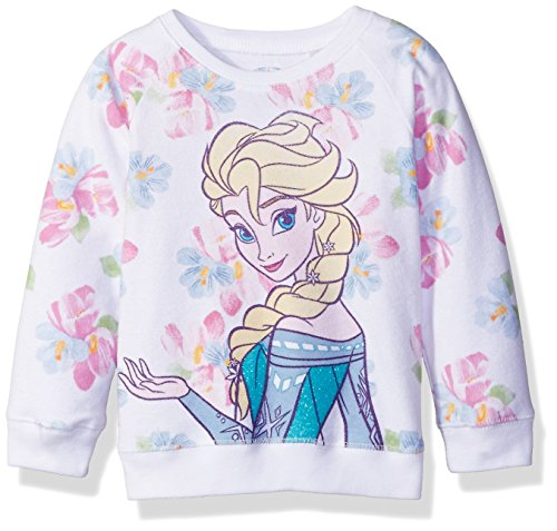 Disney Little Girls' French Terry Sweatshirt