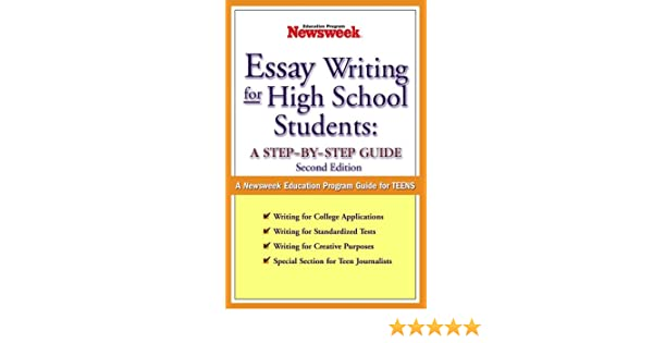 essay writing for high school students a stepbystep guide  essay writing for high school students a stepbystep guide nd edition