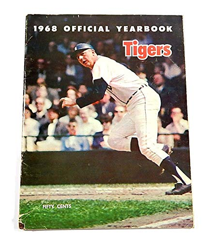 1968 Detroit Tigers Official Yearbook Signed By Denny McLain Bill Freehan Auto Autographed MLB Magazines