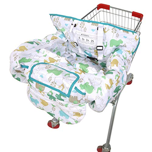 Best Price! SDADI 2-in-1 Shopping Cart Cover, High Chair Cover for Baby and Toddler, Unisex for Boy ...