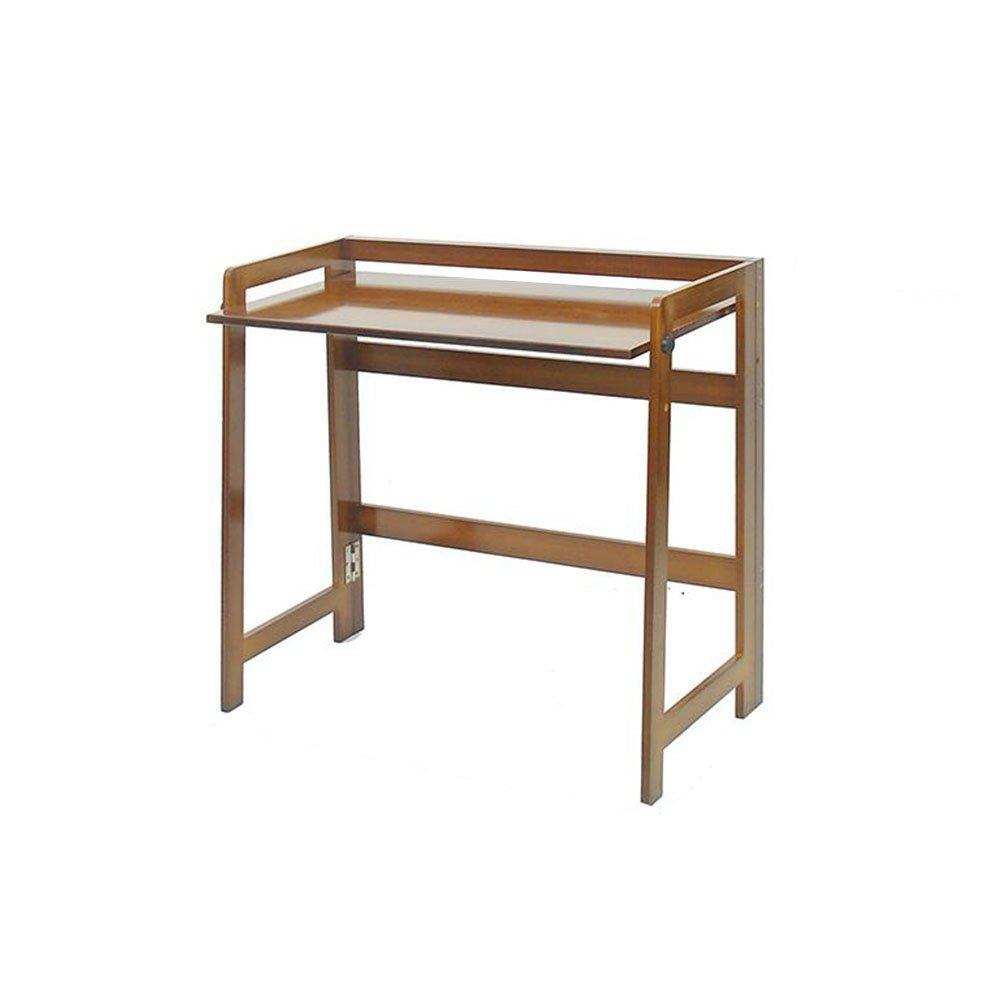 Mesas CJC Escritorio Portátil Bambú Mesa Plegable Cuarto Baño ...