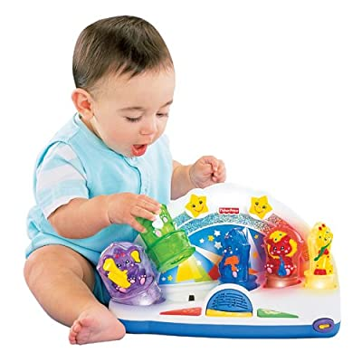 Fisher Price Sparkling Symphony Compose 'n Play Orchestra Shape Sorter: Toys & Games