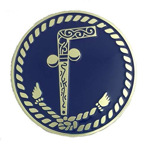 Fratline Masonic Two Ball Cane Auto Emblem by Fratline (Image #1)