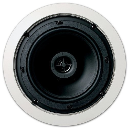 Jamo 6.5CS in Ceiling Surround Sound Home Theater Speaker, Pair, Round by Jamo