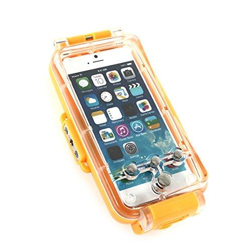 CoastCloud Wasserdicht Crystal Case Case hülle Schutzhülle Bumper für iPhone 6 (4.7zoll) Gelb