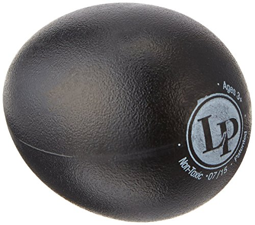 Latin Percussion Steel Tambourine - Latin Percussion LP001-BK Plastic Egg Shakers Black Bag Of 36