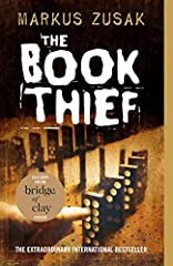 DON'T MISS BRIDGE OF CLAY, MARKUS ZUSAK'S FIRST NOVEL SINCE THE BOOK THIEF.  The extraordinary #1 New York Times bestseller that is now a major motion picture, Markus Zusak's unforgettable story is about the ability of books to feed the soul....