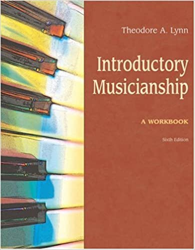 Introductory musicianship worksheet answers 8th edition