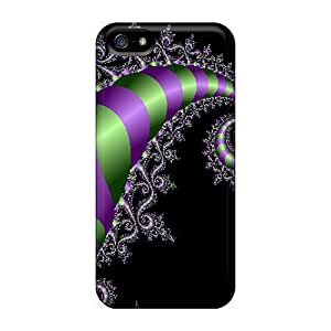 Good Quality Phone Accessories Pretty Case For HTC One M7 Cover / Curly Series High Quality Case