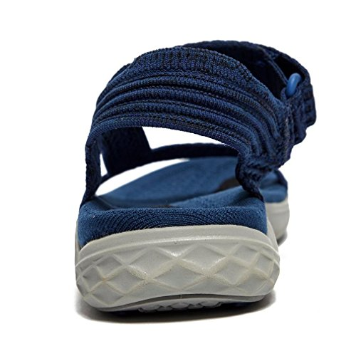 Teva TERRAFLOAT 2 Knit, Azul Marino, 43